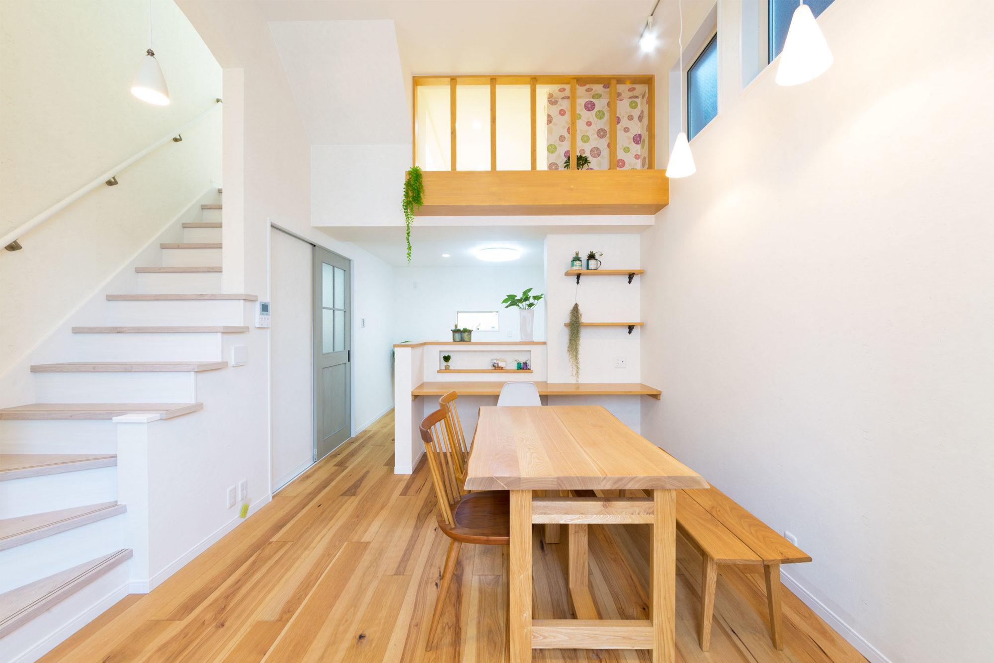 16坪の土地での大空間な家