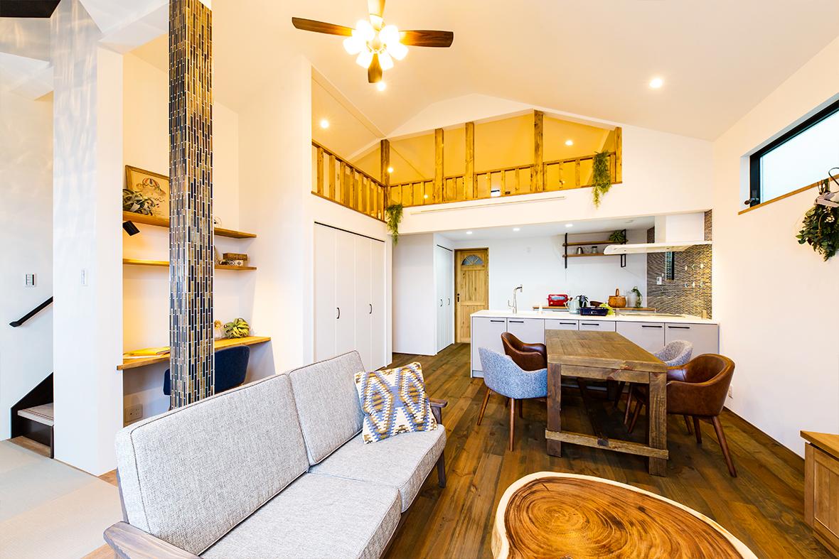 2棟目は、「オーガニック」×「天然無垢材」で実現した、おしゃれ可愛いお家です!