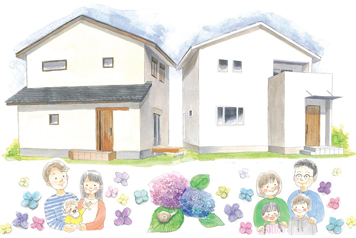 【土日限定】家族の希望を叶えた2棟プレミアム個別見学会♬