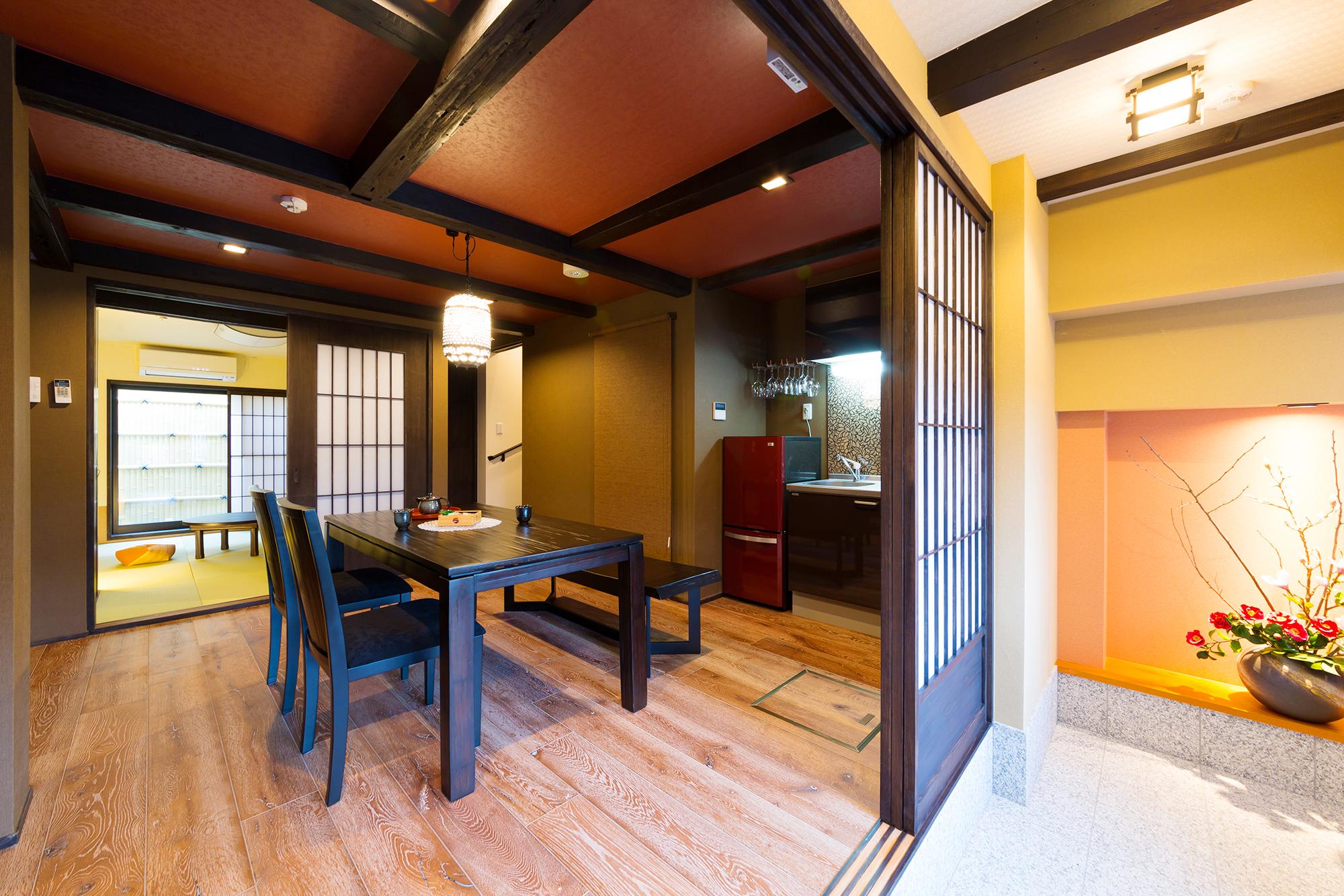 京町屋風のゲストハウス