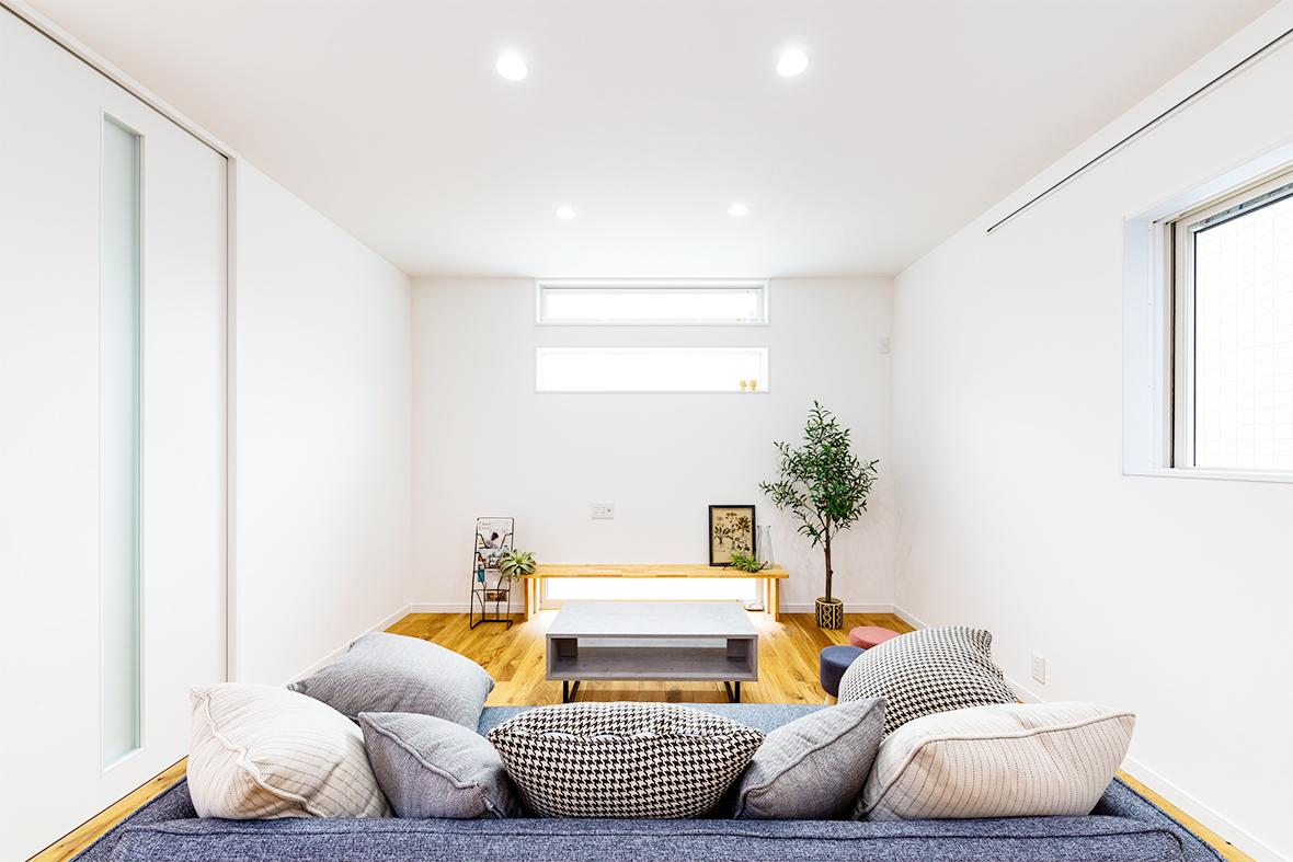 真っ白がかわいい飾りがいのあるお家です!